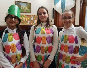 Команда юных поваров