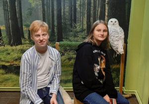 С полярной совой Сириусом